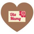 Tabliczka serce XL Dla Mamy