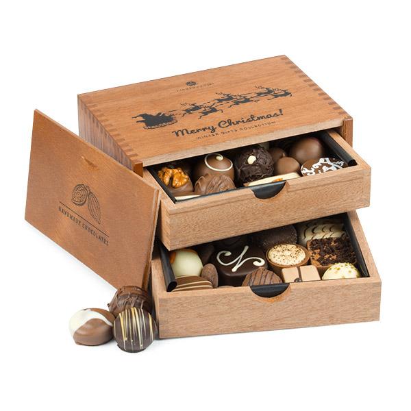 Pralinki w szkatułce Merry Chocolaterie