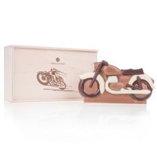 Czekoladowy motor - pomysł na prezent dla mężczyzny, czekolada mleczna, słodki upominek, czekoladowy motocykl