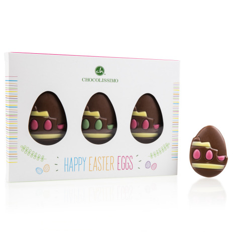 Easter goodies-3 EGGS FIGURINES