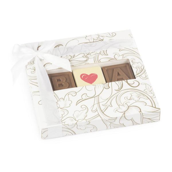 Ślubne czekoladki