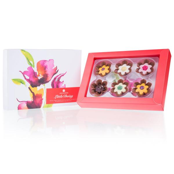 Pralinki - kwiatki z czekolady - 6
