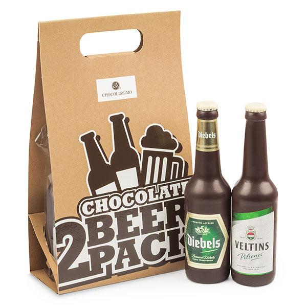 Dwupak piwa - czekoladowe piwa w opakowaniu