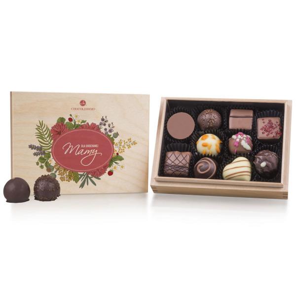 Ręcznie robione czekoladki dla Mamy