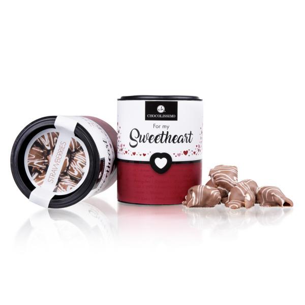Truskawki w czekoladzie na Walentynki