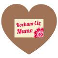 Tabliczka serce Kocham Cię Mamo